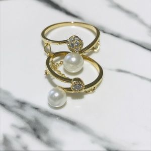 Jewelry - Delicate Double Ring Adjustable